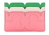 Tory Burch Scallop-T Card Case