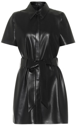 Nanushka Halli faux-leather minidress