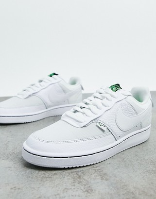 Nike Court vision low in off white