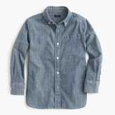 J.Crew Kids' chambray shirt