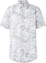 Paul By Paul Smith - printed shortsleeved shirt - men - Cotton - S