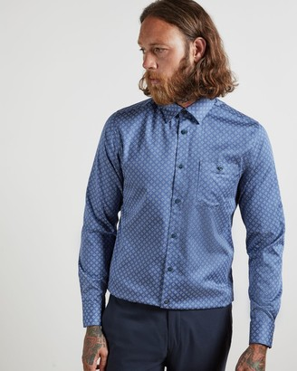 Ted Baker Cotton Geo Shirt