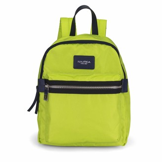 Nautica Armada Formation Top Handle Backpack with Large Front Zipper Pocket
