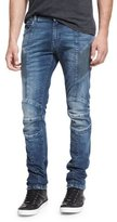 Pierre Balmain Skinny-Fit Biker Denim Jeans