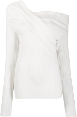 Nina Ricci one shoulder jumper