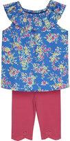 Ralph Lauren Floral top & leggings set 3-24 months