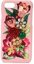 Dolce & Gabbana Floral Embellished Phone Case