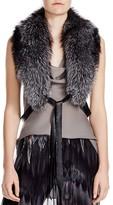 Haute Hippie Judy Fox Fur Collar