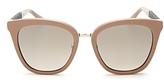 Jimmy Choo Fabry Square Sunglasses, 53mm