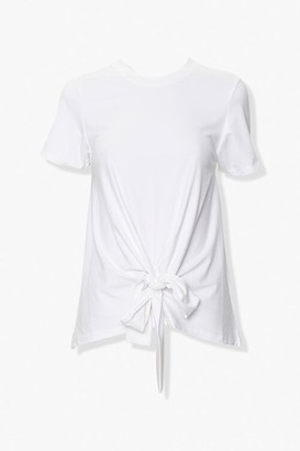 Forever 21 Knotted Self-Tie Tee