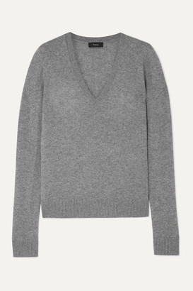 Theory Cashmere Sweater - Gray