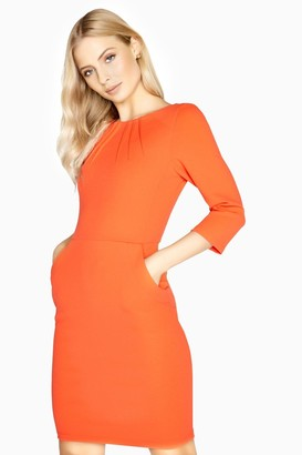 Paper Dolls Bretigny Pleat Detail Dress