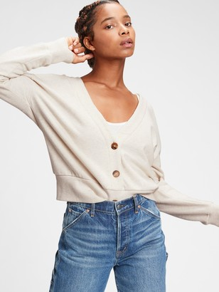 Gap Vintage Soft Cropped Cardigan