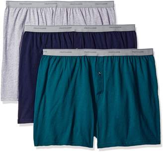 Fruit of the Loom Men's Big Man Knit Boxers (Pack of 3)