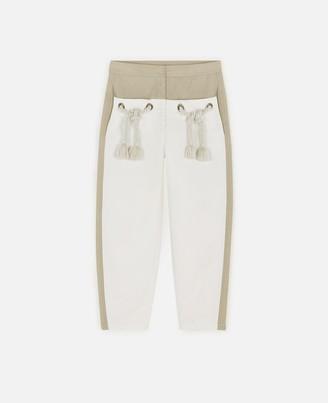 Stella McCartney Amanda Compact Cotton Pants, Women's