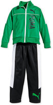 Puma Little Boys' 2-Pc. Tricot Track Jacket and Pants Set