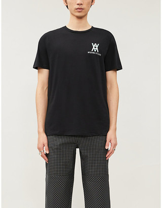 Selfridges Daniel Arsham Logo-print cotton-jersey T-shirt