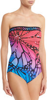 Gottex Monarch Bandeau One-Piece Swimsuit