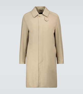 MACKINTOSH Dunkel one-button overcoat