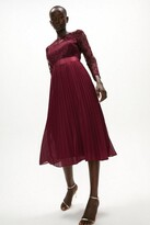 Thumbnail for your product : Coast Embroidered Long Sleeve Midi Dress