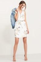 Dynamite Sleeveless Shirt Dress with Zip
