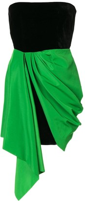 Alex Perry Reyes draped dress