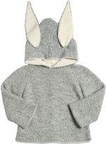 Oeuf Rabbit Baby Alpaca Tricot Hooded Sweater