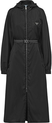 Prada long raincoat