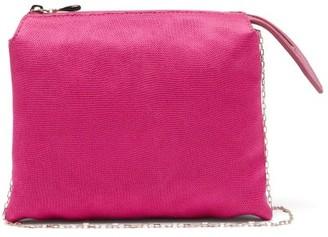 The Row Nu Twin Mini Satin Shoulder Bag - Pink