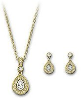 Swarovski Sensation Set, -plated