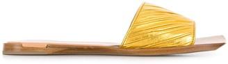 Bottega Veneta squared-toe sandals