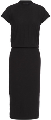 James Perse Slub Stretch-cotton Jersey Dress