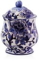 Gien Piviones Bleu Sugar Bowl