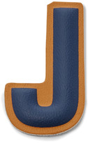 Fossil Letter J Sticker