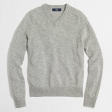 J.Crew Factory Tall lambswool V-neck sweater