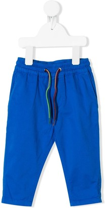 Paul Smith drawstring tapered trousers