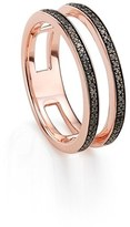 Monica Vinader 'Skinny' Openwork Diamond Ring
