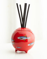 Fornasetti Sardine Rosso Diffusing Sphere