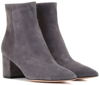 Gianvito Rossi Exclusive to Mytheresa a Piper 60 suede ankle boots