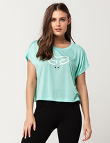 Fox Seca Womens Crop Tee