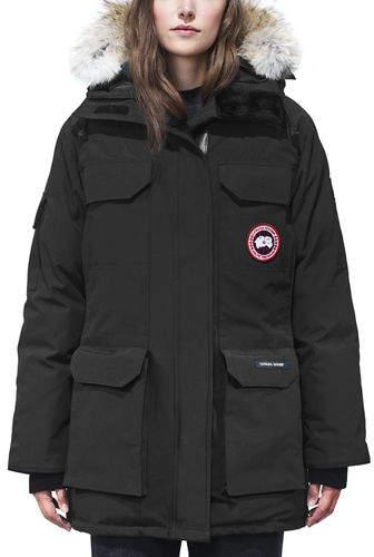 Canada Goose Expedition Multi-Pocket Parka Coat w/ Fur Hood