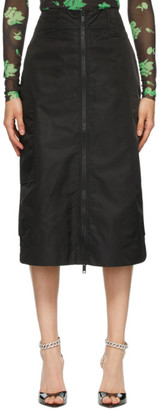 Ganni Black Outerwear Skirt