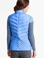 Talbots Chevron-Quilted Puffer Vest