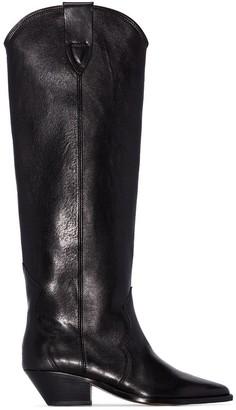 Isabel Marant knee-high cowboy boots