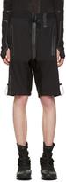 Y-3 Sport Black Rain Zip Shorts