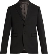 Acne Studios Venice single-breasted wool tuxedo jacket