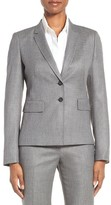 BOSS Women's Jiwina Minidot Stretch Wool Jacket