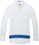 Scotch & Soda Cotton-Linen Kaftan Shirt
