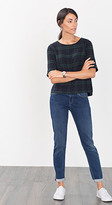 Esprit OUTLET cropped stretch five-pocket jean