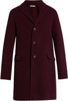 Massimo Alba Hound's-tooth single-breasted wool coat